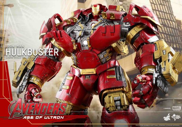Hot toys HULKBUSTER. Catch Avengers Age of Ultron at Newport Cinemas in Resort's World, EASTWOOD City Mall, Lucky China Town Mall and Shang Rila Plaza mall.