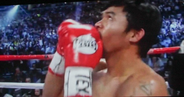 Manny Pacquiao as The Fighter of the Decade giving thanks to God. After KID KULAFU's successful run in the Philippines it will also be released in the U.S. and Canada. Click on this link for cities and release dates: http://abscbnpr.com/untold-story-of-manny-pacquiao-revealed-in-kid-kulafu/