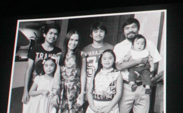 The Pacquiao family; After KID KULAFU's successful run in the Philippines it will also be released in the U.S. and Canada. Click on this link for cities and release dates: http://abscbnpr.com/untold-story-of-manny-pacquiao-revealed-in-kid-kulafu/