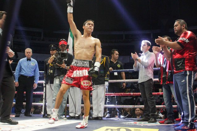 Gilberto 'Parrito' Parra had an impressive 80% KO record. 17 of his 22 fights were KOs. PINOY PRIDE 30 D-Day was held at the SMART Araneta Coliseum last March 28, 2015. Photo by Jude Bautista