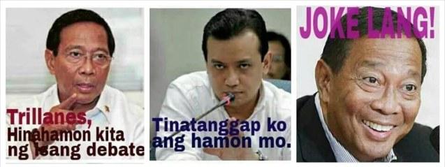 From Mei Magsino fb page: Sana joke din lang ang pagtakbo nya bilang presidente sa 2016! https://www.facebook.com/mei.magsino?fref=nf