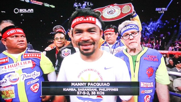 You will always be our People's Champ Manny!