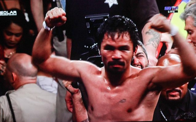 Our corazon is with you Manny!