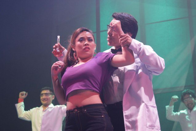 Kim Molina (Viva) and Vince Lim (Henyotik). Dalanghita productions' KUNG PAANO AKO NAGING LEADING LADY will run in PETA from May 9 to June 7, 2015. Photo By Jude Bautista