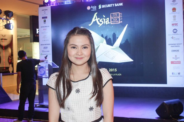 Barbie Forteza won a Cinemalaya Best Supporting Actress nod for her performance as teen Imelda Guevara. ASIA ON SCREEN 2015 film fest will run at the Shang Cineplex, Shangri-La Plaza Mall from May 8-12, 2015. Photo by Jude Bautista
