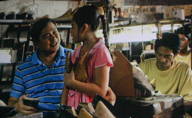 Dennis Padilla (Domeng) and Sofia Pablo (Grade school Imelda). ASIA ON SCREEN 2015 film fest will run at the Shang Cineplex, Shangri-La Plaza Mall from May 8-12, 2015.