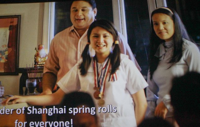 from left Ricky Davao (Romeo), Barbie Forteza (Imelda) & Che Ramos-Cosio (Leonor). ASIA ON SCREEN 2015 film fest will run at the Shang Cineplex, Shangri-La Plaza Mall from May 8-12, 2015.