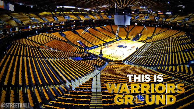 The ORACLE Arena is one of the loudest in the league.