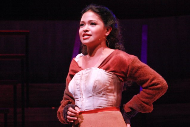"Cara Barredo (Swing) in Repertory Phil.'s ""Jekyll & Hyde"" which ran from March 16-April 15, 2012. Photo by Jude Bautista"