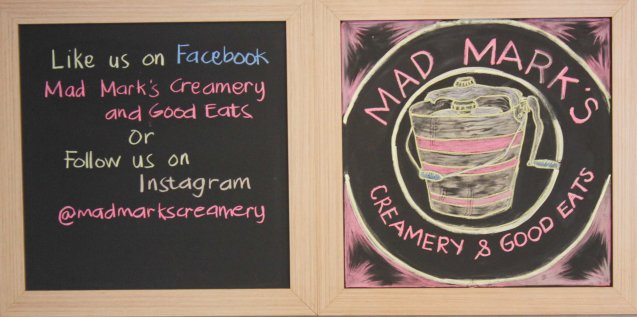 MAD MARK'S has great artisanal ice cream in Bonifacio High Street Cinemas and other branches.