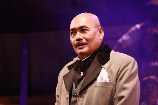"Junix Inocian as Gabriel John Utterson in Repertory Phil.'s ""Jekyll & Hyde"". It ran from March 16-April 15, 2012. Photo by Jude Bautista"
