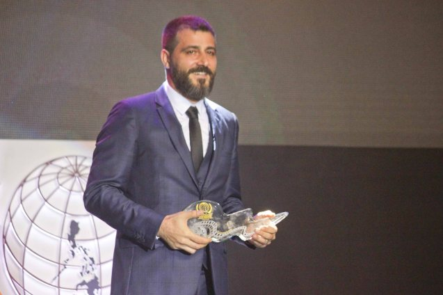 Main Competition Grand Jury Prizewinner Burak Cem Arliel – CRIMEAN (Turkey). The World Premieres Film Festival Phil features 70 films from over 35 countries along with the Filipino New Cinema competition. It is currently the most prestigious international film fest in the Philippines. Photo by Jude Bautista