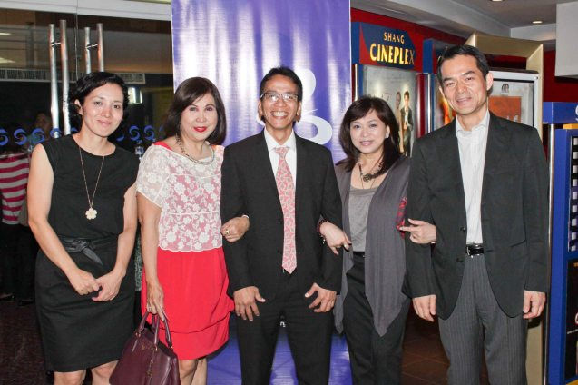 from right: Japan Foundation Dir. Shuji Takatori, Shang Rila Plaza Mktg. Div. Head Marline Dualan, Japan Foundation Proj Coordinator Roland Samson, PR guru Joy L. Buensalido and Japan Foundation Prog officer. Mutsuko Ikeda. Watch this and many more Japanese films for free at the Eigai Sai Film festival running in Shang Cineplex, Shangri-La Plaza from July 9-19, 2015. Photo by Jude Bautista.