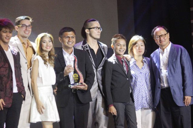 PIRING team from left: Carlos Morales, Krista Miller, Vice Gov Bonz Dolor, Yussef Esteves and Gene Padilla. PIRING won Best Screenplay & 2nd Best Film in the Filipino New Cinema category. The World Premieres Film Festival Phil features 70 films from over 35 countries along with the Filipino New Cinema competition. It is currently the most prestigious international film fest in the Philippines. Photo by Jude Bautista
