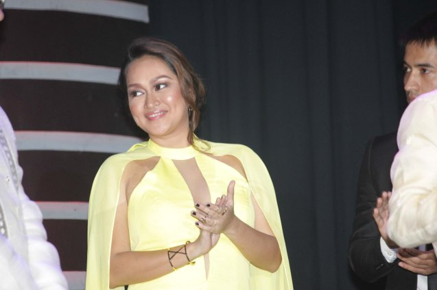 Ravishing Filipino New Cinema Best Actress Mercedes Cabral. The World Premieres Film Festival Phil features 70 films from over 35 countries along with the Filipino New Cinema competition. It is currently the most prestigious international film fest in the Philippines. Photo by Jude Bautista