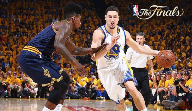 Klay Thompson lead the Warriors in scoring with 34 pts for Gm 2.
