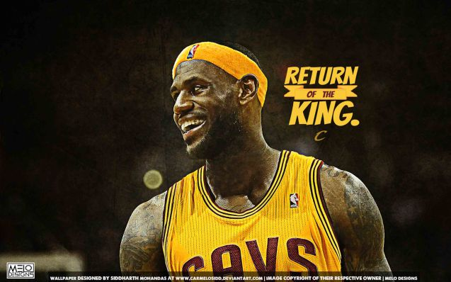 The headline for 2014 was Lebron's return to his hometown of CLEVELAND.