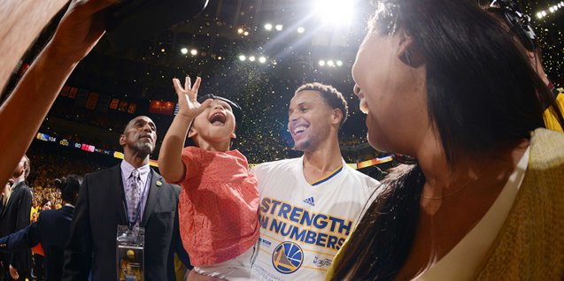 Stephen Curry's adorable daughter Riley has gained a lot of fans.