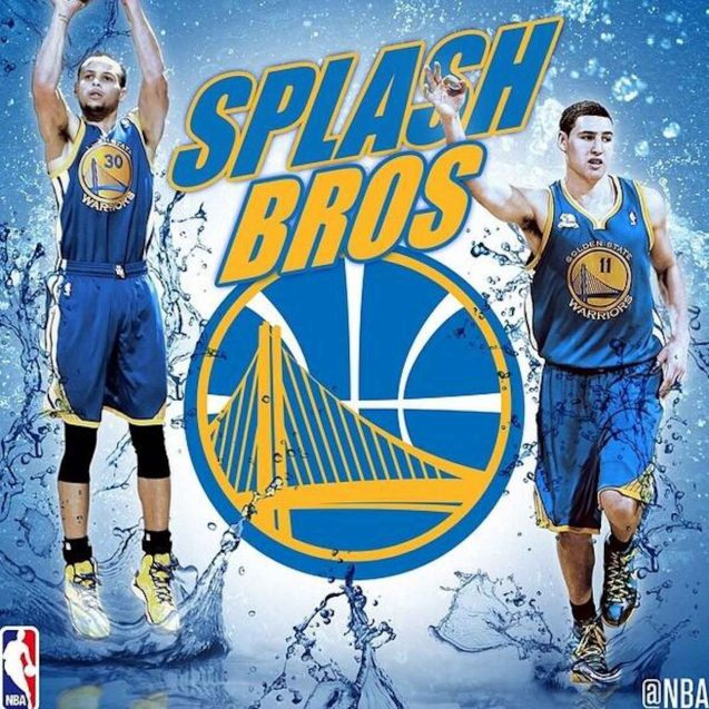 Splash Brothers Steph Curry & Klay Thompson.