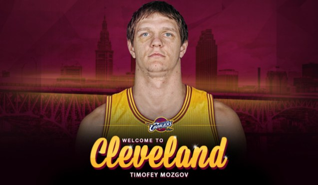 Russian star Timofey Mozgov stepped up his game to fill the void of losing Kevin Love to injury.