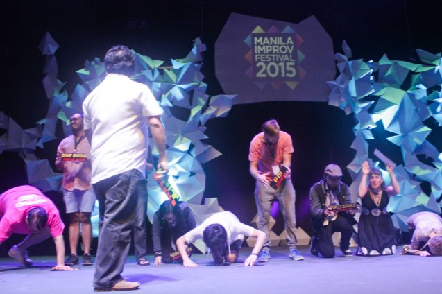 Improv teams are not worthy of Mla Improv Festival Director Gabe Mercado. The 3rd International Manila Improv Festival runs from July 8-12, 2015 at the PETA Theater Center. Photo by Jude Bautista.