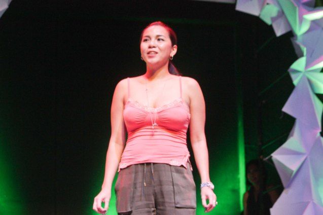 Chal Lontoc Del Rosario of SPIT. The 3rd International Manila Improv Festival runs from July 8-12, 2015 at the PETA Theater Center. Photo by Jude Bautista.