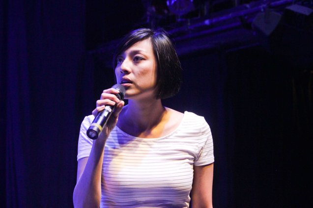 Aryn Cristobal looks like a Taiwanese actress but is actually from SPIT. The 3rd International Manila Improv Festival runs from July 8-12, 2015 at the PETA Theater Center. Photo by Jude Bautista.