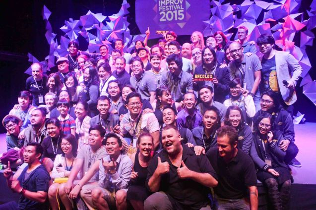 Participants of the Manila Improv fest had a blast! The 3rd International Manila Improv Festival runs from July 8-12, 2015 at the PETA Theater Center. Photo by Jude Bautista.