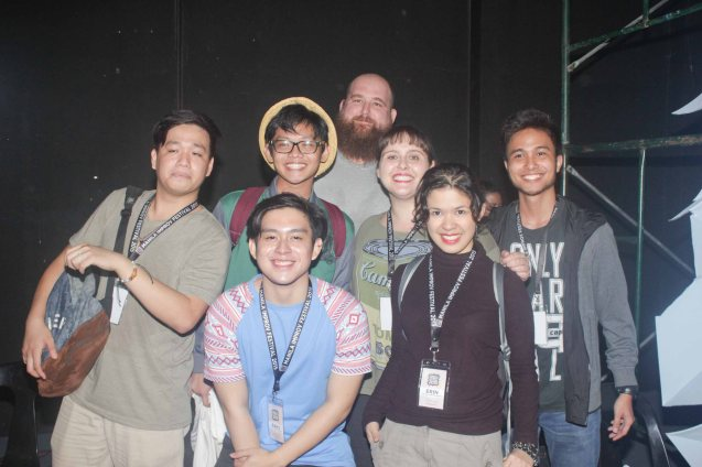 One and A Half Men with Impromafia. The 3rd International Manila Improv Festival runs from July 8-12, 2015 at the PETA Theater Center. Photo by Jude Bautista.