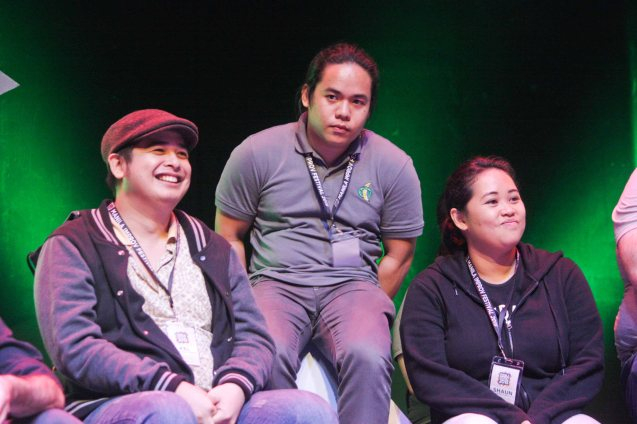 SWITCH Improv w Dulaang Atenista. The 3rd International Manila Improv Festival runs from July 8-12, 2015 at the PETA Theater Center. Photo by Jude Bautista.