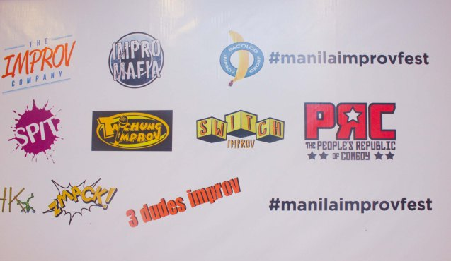 The 3rd International Manila Improv Festival runs from July 8-12, 2015 at the PETA Theater Center.  Workshops on improv for performance and teambuilding purposes can also be attended in the mornings of the performance dates in PETA. The Tropical Improv Camp was also conducted at Siliman University in Dumaguete, Negros Oriental from July 2-5, 2015.