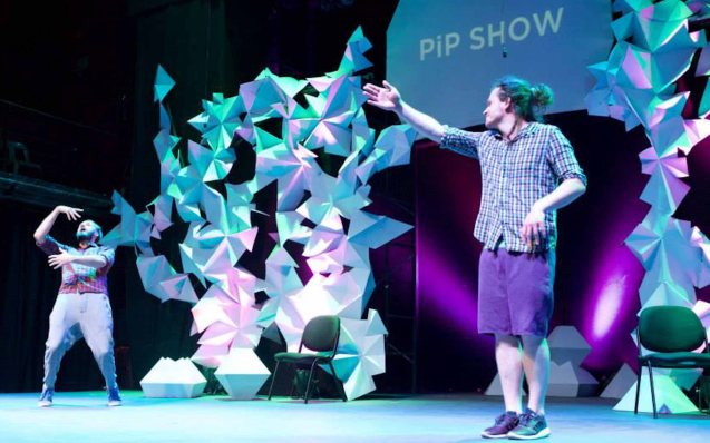 PIP show from left: Pawel Najgebauer & Piotr Sikora. Photo by filmmaker and SPIT member Jay Ignacio from his fb page: https://www.facebook.com/jay.ignacio