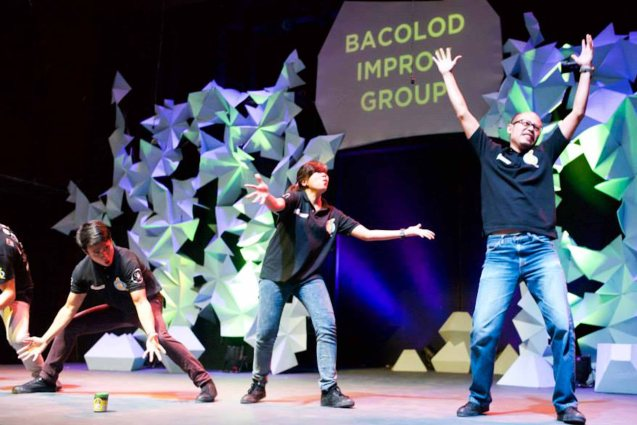 BACOLOD Improv Group; Photo by filmmaker and SPIT member Jay Ignacio from his fb page: https://www.facebook.com/jay.ignacio