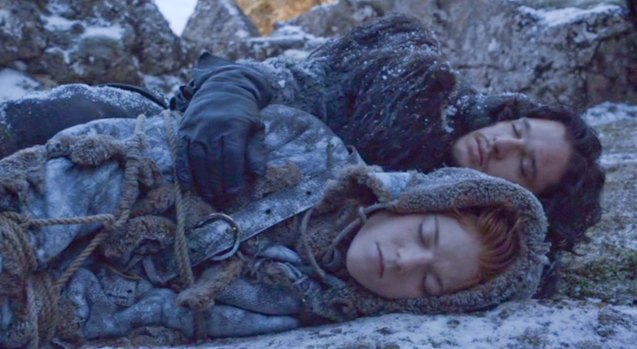 Jon Snow (Kit Harrington) & Ygritte's (Rose Leslie) true love was doomed.