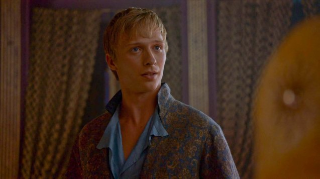 Olyvar (Will Tudor) excuses himself from selection.