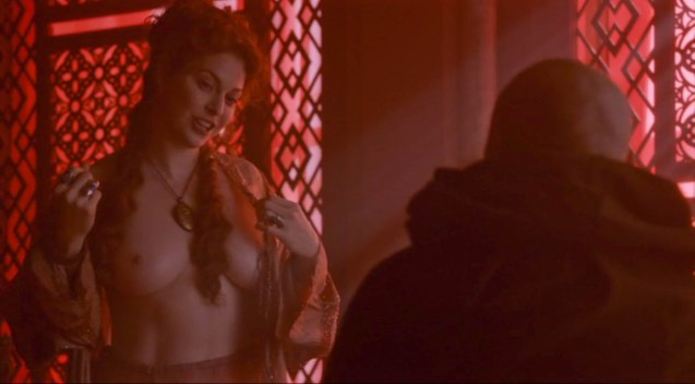 Ros (Esmé Bianco) shows her wares.