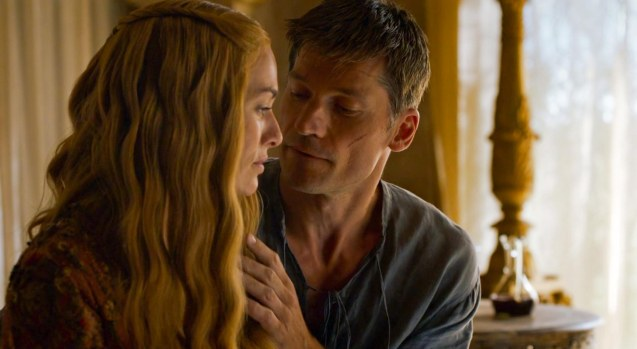 Twins Jaime (Nikolaj Coster-Waldau) & Cersei (Lena Heady) has had a life long incestuous affair.