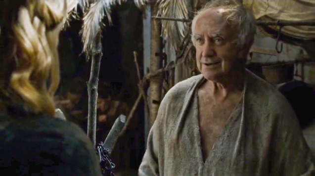 Jonathan Pryce plays High Sparrow, leader of the cult.