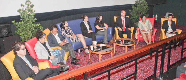 from right: Japan Foundation Dir Shuji Takatori, Royal Thai Emb Minister Counselor & Consul Somjai Taphaopong, Inst Cervantes Mla Dir Carlos Madrid, PIA Proj Coordinator Cristina Moricca, Austrian Cultural Attaché Lisbeth Strohmeier , U.S. Emb Asst. Cultural Affairs Officer Elizabeth Liu, French Audio-Visual Attaché Martin Macalintal, Goethe-Inst Phil Prog Coordinator Shadin Kitma & FDCP Proj Dev. officer Quintin Cu-Unjieng. Watch Silent films for free w top musicians providing live soundtrack on the 9th Silent film Festival at Shang Cineplex, Shang Rila Plaza from August 27-30, 2015. Tickets will be given on a first come first served basis so check out schedules and make sure to go early. Photo by Jude Bautista