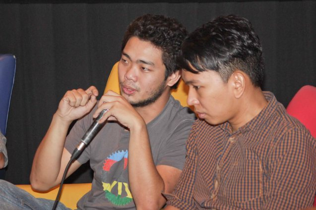 from left: Jason Conanan and Aaron Gonzalez of Hidden Nikki. Watch Silent films for free w top musicians providing live soundtrack on the 9th Silent film Festival at Shang Cineplex, Shang Rila Plaza from August 27-30, 2015. Tickets will be given on a first come first served basis so check out schedules and make sure to go early. Photo by Jude Bautista