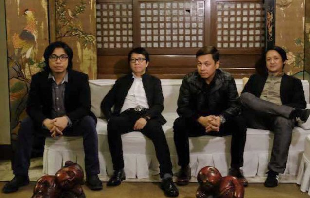 The Dawn from left: Buddy Zabala (bass), Rommel 'Sancho' Sanchez (guitars), Jett Pangan (vocals) and Jun Boy Leonor (drums). Watch Silent films for free w top musicians providing live soundtrack on the 9th Silent film Festival at Shang Cineplex, Shang Rila Plaza from August 27-30, 2015. Tickets will be given on a first come first served basis so check out schedules and make sure to go early.