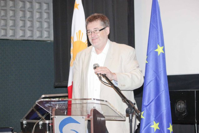 Czech Amb. Jaroslav Olsa Jr; Watch European films for free in Cine Europa 18 at Shang Cineplex, Shangri La Plaza Mall from September 10-20, 2015. Photo by Jude Bautista