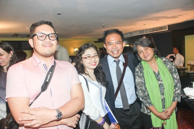 from left: ABS CBN Online Lifestyle Editor Duey Guison, Bizworld writer Zsarlene Chua, Piano prodigy Martin Macalintal and Music & film auteur Susan Claire Agbayani. Watch European films for free in Cine Europa 18 at Shang Cineplex, Shangri La Plaza Mall from September 10-20, 2015. Photo by Jude Bautista