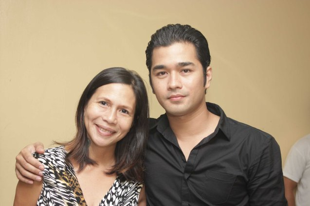 Actress Mailes Kanapi & Jun jun Quintana; Jesse Lucas FULL RANGE is part of the TRIPLE THREATS series-the composers at CCP Tanghalang Aurelio Tolentino last August 20, 2015. Photo by Jude Bautista