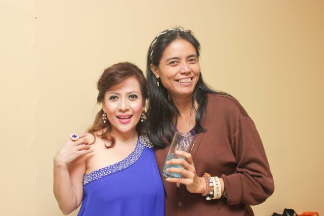 from left: Liesl Batican and Mars Callo; Jesse Lucas FULL RANGE is part of the TRIPLE THREATS series The composers at CCP Tanghalang Aurelio Tolentino last August 20, 2015. Photo by Jude Bautista