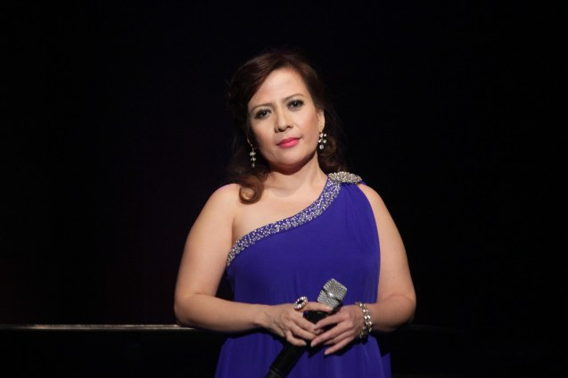 Liesl Batucan sang I WILL LISTEN; Jesse Lucas FULL RANGE is part of the TRIPLE THREATS series The composers at CCP Tanghalang Aurelio Tolentino last August 20, 2015. Photo by Jude Bautista