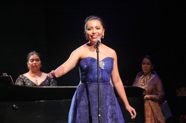 Banaue Miclat Janssen; Jesse Lucas FULL RANGE is part of the TRIPLE THREATS series-the composers at CCP Tanghalang Aurelio Tolentino last August 20, 2015. Photo by Jude Bautista