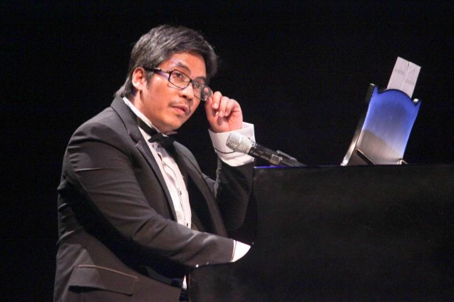 Jesse Lucas is one of the most prolific and talented composers of our time. Jesse Lucas FULL RANGE is part of the TRIPLE THREATS series The composers at CCP Tanghalang Aurelio Tolentino last August 20, 2015. Photo by Jude Bautista