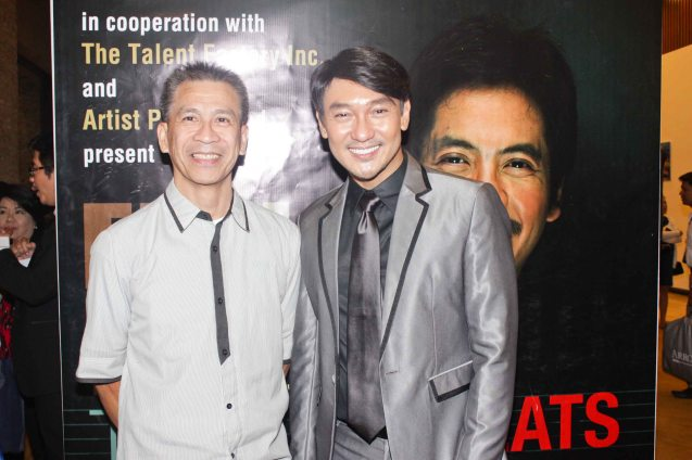 from left: Ibarra Mateo and Roeder Camañag. Jesse Lucas FULL RANGE is part of the TRIPLE THREATS series The composers at CCP Tanghalang Aurelio Tolentino last August 20, 2015. Photo by Jude Bautista