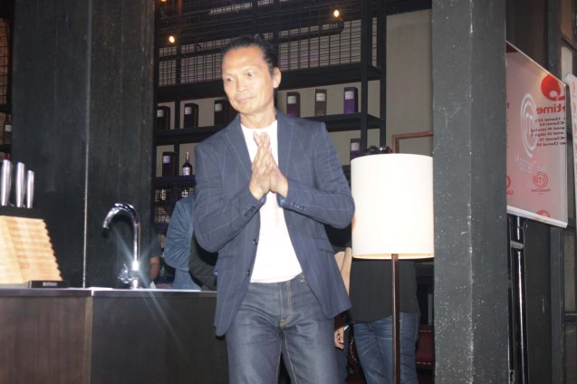 Chef Susur Lee; MasterChef Asia visited URBN Bar & Kitchen 28th St, Bonifacio Global City, Taguig. Photo by Jude Bautista